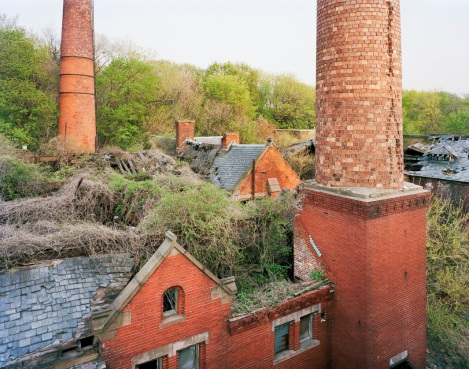 Boilerplant from Morgue Roof, North Brother Island, New York