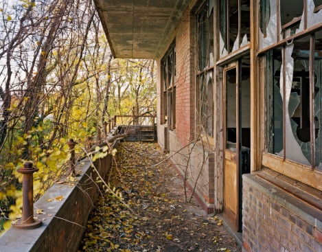 Tuberculosis Pavilion Balcony, North Brother Island, New York